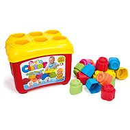 Clementoni Clemmy baby Shape Sorter Tub with 18 blocks - Toddler Toy