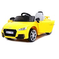 Audi TT RS yellow - Children's electric car