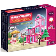Magformers Sweet House - Magnetic Building Set