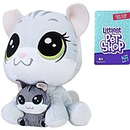 Littlest Pet Shop Pair - Tabsy and Holiday Felino - Plush Toy