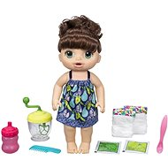 Baby Alive Sweet Spoonfuls Baby - Dark blue with Mixer - Doll