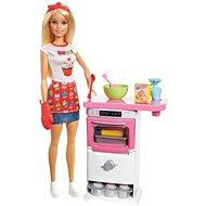 Barbie Bakery Chef Doll and Playset - Doll