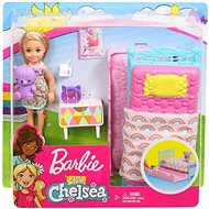 Barbie Chelsea and Bed Accessories - Doll