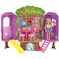 Barbie Chelsea and a tree house - Doll