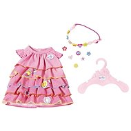 BABY Born Summer dress with clip-on decorations - Doll Accessory