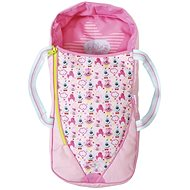 BABY Born 2in1 Sleeping Bag Carrier - Doll Accessory