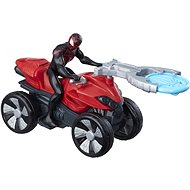 Kid Arachnid on a quad - Figurine