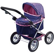 Trendy Blue Pram - Doll Stroller
