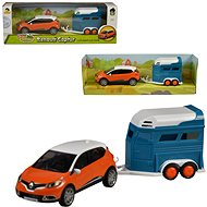 Renault Captur car with horse trailer - Toy Vehicle