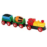 Brio World 33319 Battery powered action train - Train