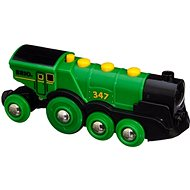 Brio World 33593 Great green action locomotive - Train