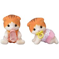 Sylvanian Families Maple Cat Twins - Play set