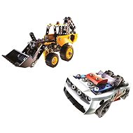 Meccano Functional Excavator or Sports Car - Building Kit