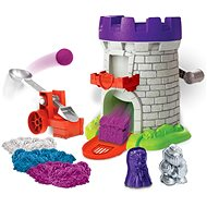 Kinetic Sand Medieval tower with accessories - Kinetic Sand