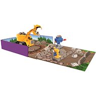 Kinetic Rock Building Kit with Machines 340g - Kinetic Sand