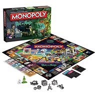 Monopoly Rick and Morty, ENG - Board Game