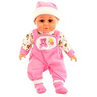 Doll with sounds - pink - Baby