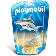 Playmobil 9065 Shark with its Baby - Building Kit