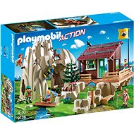 Rock with a mountain cottage - Building Kit