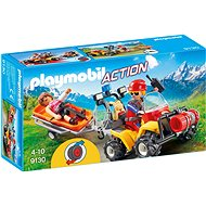 Playmobil 9130 Mountain Rescue Quad - Building Kit