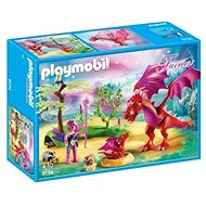 Playmobil 9134 Friendly Dragon with Baby - Building Kit