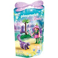 Playmobil 9140 Fairies - Fairy Girl with Animal Friends - Building Kit
