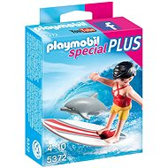 Playmobil 5372 Special Plus Surfer with Dolphin - Building Kit