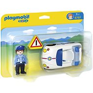 Playmobil 6797 1.2.3 Police Car - Building Kit