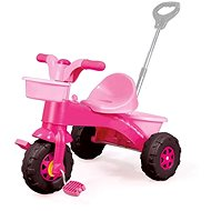 DOLU My first tricycle with a handle, pink - Tricycle
