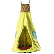 Woody Foldable Circular Swing with Tent - Garden swing