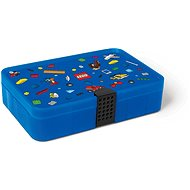 LEGO Iconic Box with compartments - blue - Storage Box