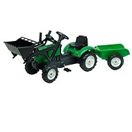 Falk Lander Z160X with Shovel and Trailer - Pedal Tractor