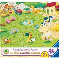 Ravensburger 036837 Small Farm - Puzzle