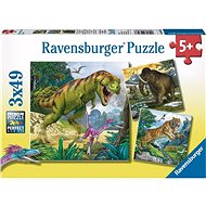 Ravensburger 93588 Dinosaurs and Time - Puzzle