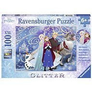 Ravensburger 136100 Disney Frozen Glitter in the Snow - Puzzle