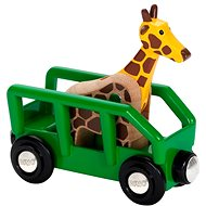 Brio World 33724 Giraffe and Wagon - Building Kit