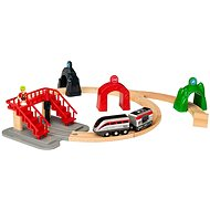 Brio World 33873 Smart Tech Engine Set with Action Tunnels - Building Kit