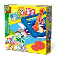 SES Spiral Drawing Set With Cards - Creative Toy