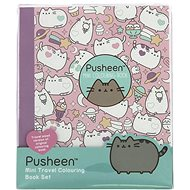 Pusheen Travel Colouring-In Book - Creative Toy