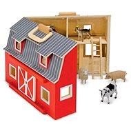 Portable stable with animals - Game set