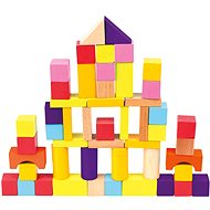 Bino Cubes in a bucket 50pcs - Picture Blocks