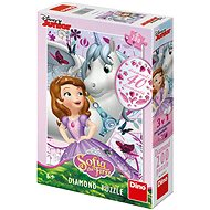 Sofia and a unicorn - diamond - Puzzle