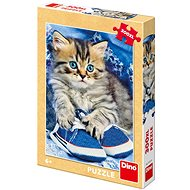 Kitten in a Blue Shoe - Puzzle