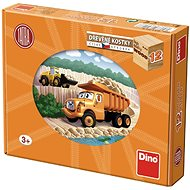 Dine Tatra Truck in 12 Cubes - Picture Blocks