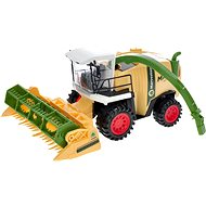 27cm combine harvester - yellow - Toy