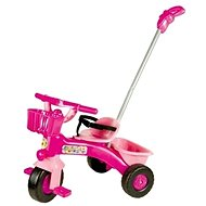 Tricycle pink with guide bar - Tricycle