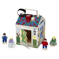 House with bells and unlocking locks - Children's game