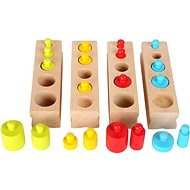 Small foot Plug and Learn Wooden Toys
