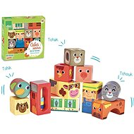 Vilac Ramping Cubes Farm - Picture Blocks