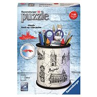 Ravensburger 3D 112265 Pencil stand Drawing of Prague - 3D puzzle